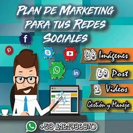 anuncio plan de marketing para tus redes sociales